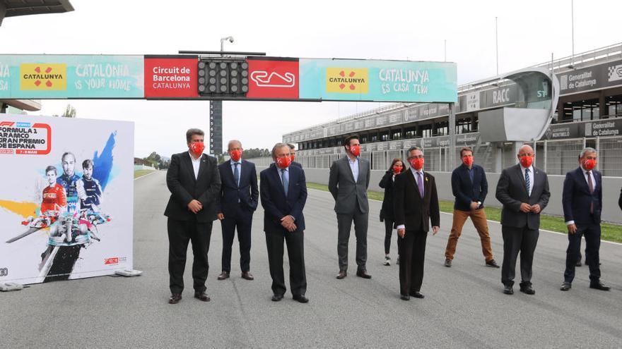 La Generalitat treballa perquè el Circuit de Catalunya segueixi com seu fixa de la Fórmula 1