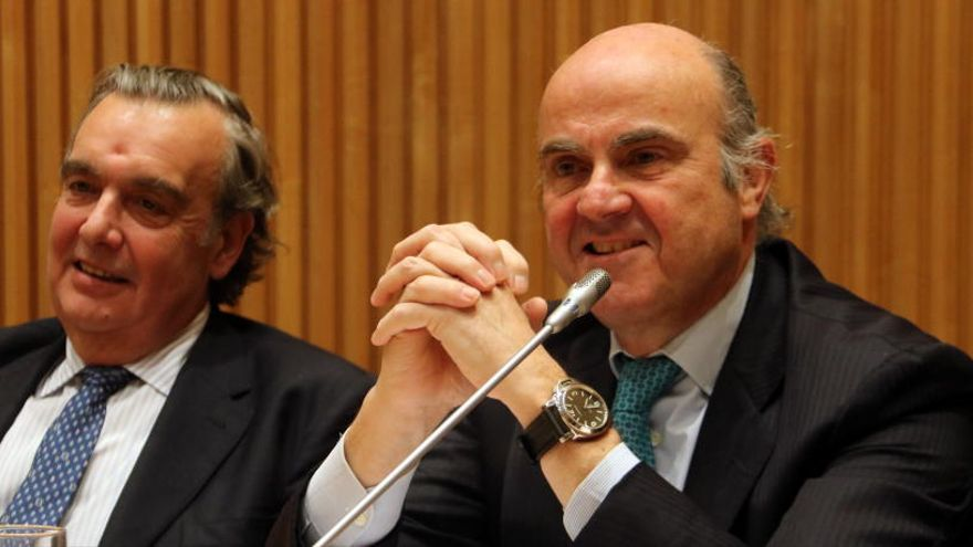 El ministre Guindos, candidat a  la vicepresidència del Banc Central Europeu