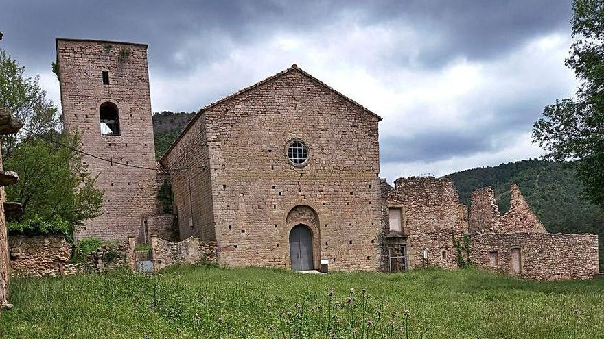 El Govern invertirà uns 450.000 euros en el monestir de la Portella
