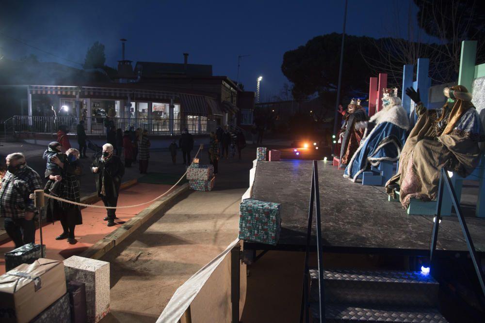 Súria viu la nit màgica al parc municipal