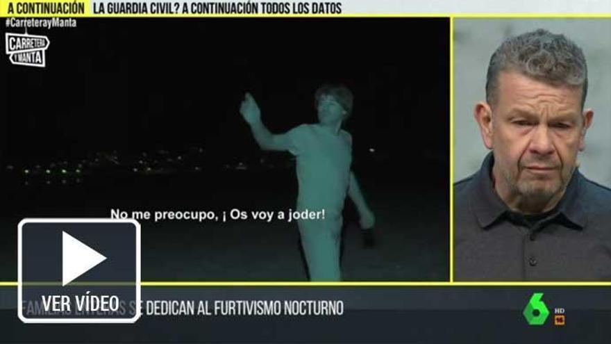 """Momento de tensión entre Alberto Chicote y los furtivos de la almeja de Carril: """"Le voy a meter una patada al cámara"""""""