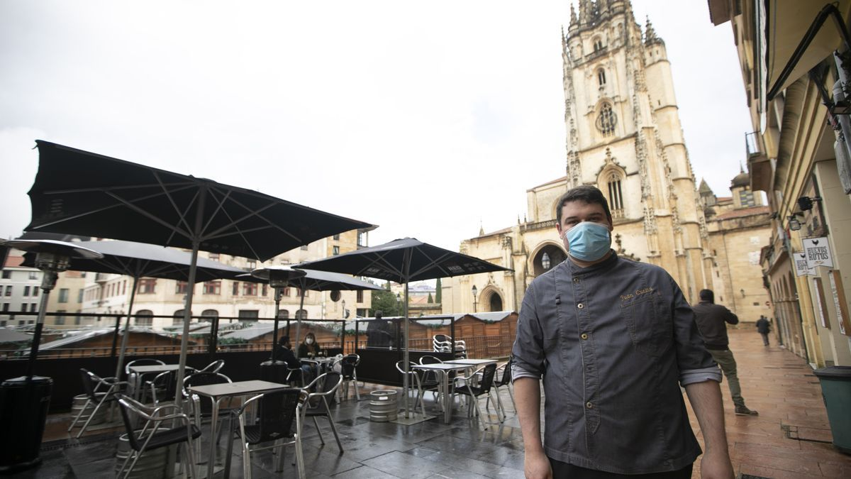 Reapertura de bares en Oviedo