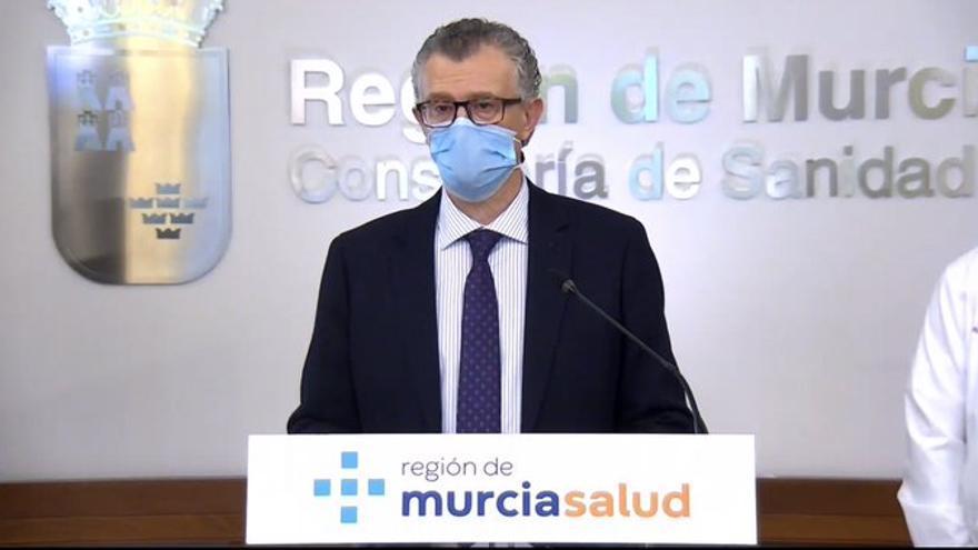 En directo | Sigue la comparecencia del consejero de Salud sobre la vacunación en Murcia
