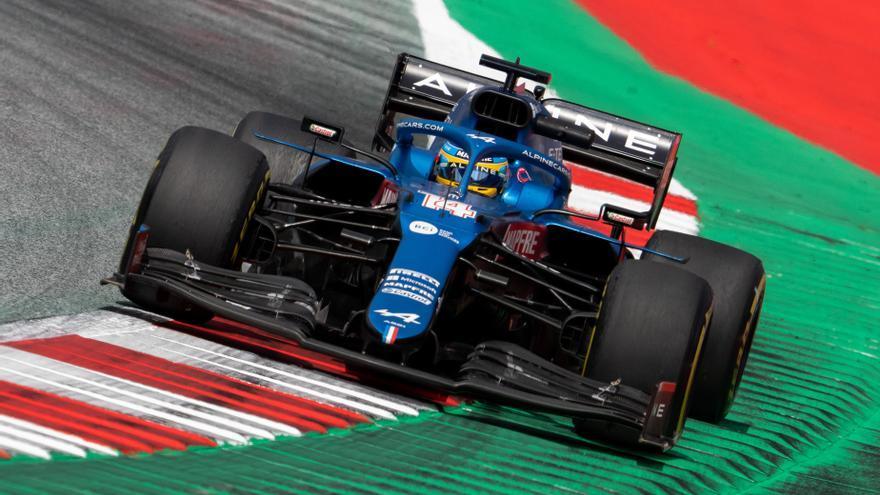 Alonso y Sainz saldrán 9º y 12º en el GP de Estiria
