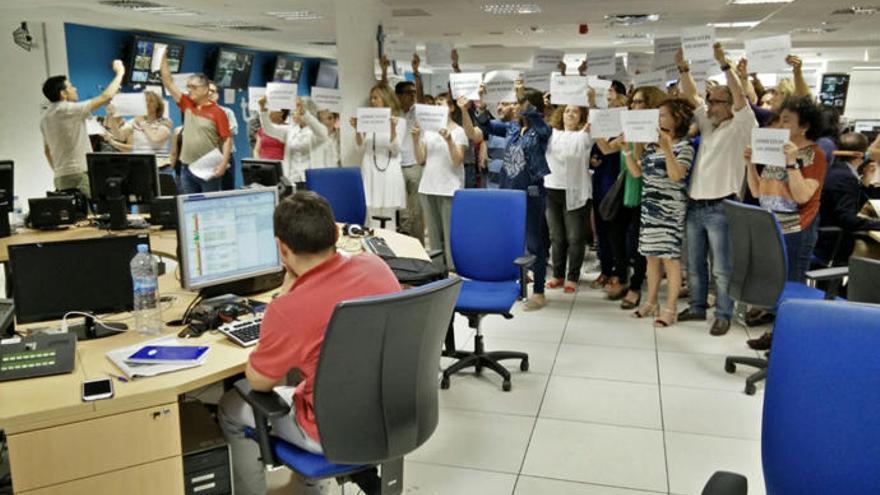 Los trabajadores de TVE en Cataluña, en pie de guerra