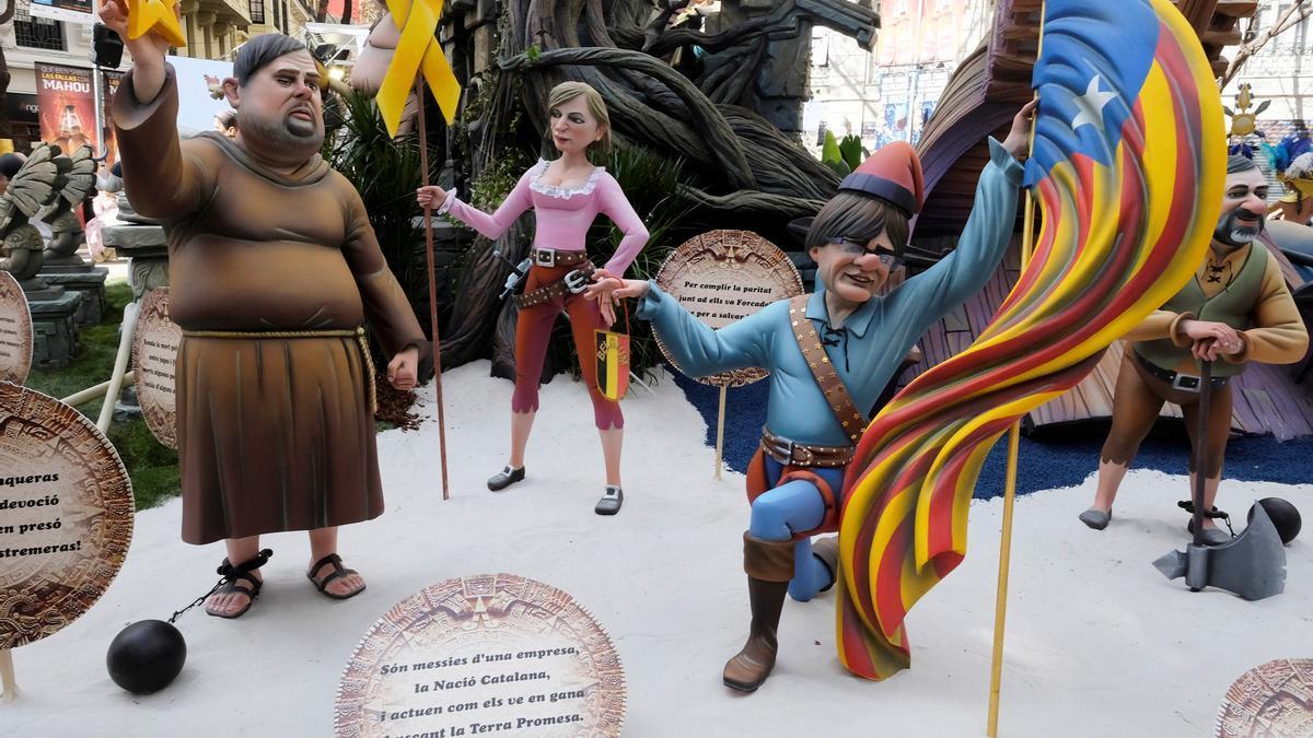 Las Fallas de Valencia podrían celebrarse en septiembre.