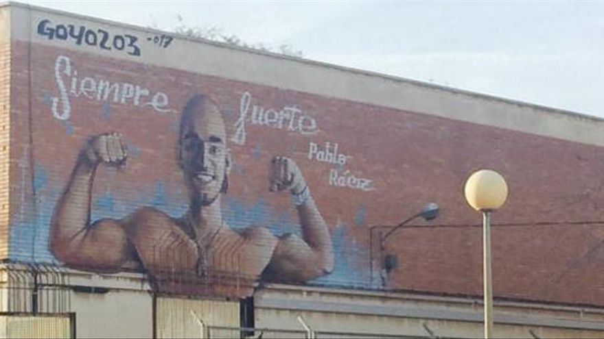Un mural para Pablo Ráez