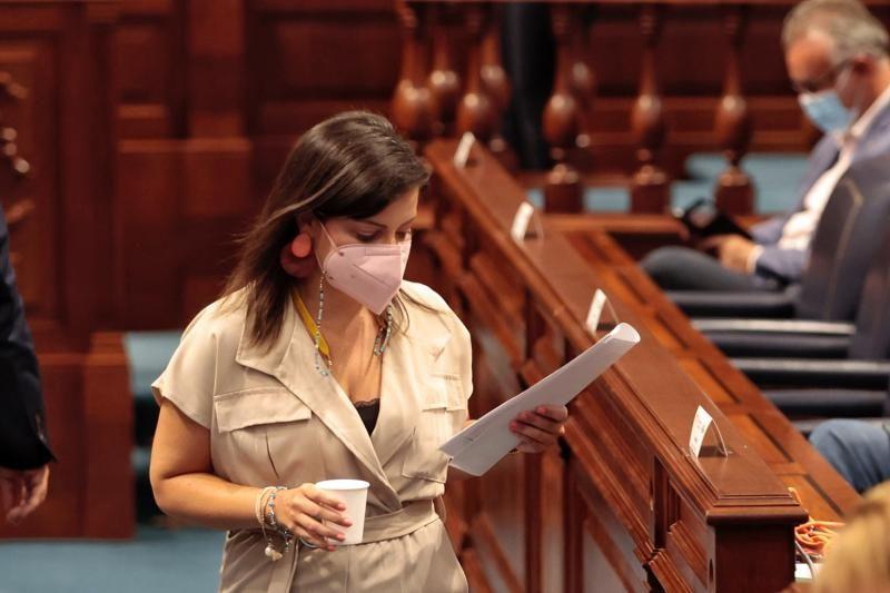 Pleno del Parlamento de Canarias (17/08/21)
