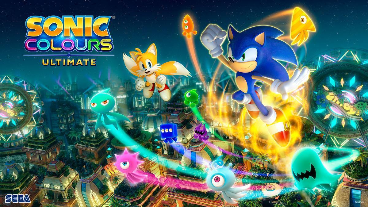 Poster de 'Sonic Colours Ultimate'.