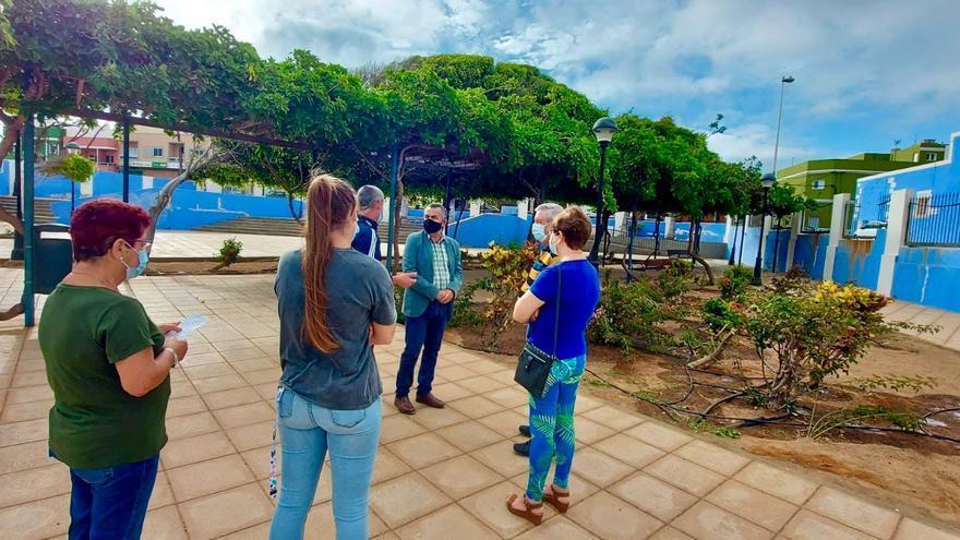 Los muros del parque de La Pardilla serán restaurados