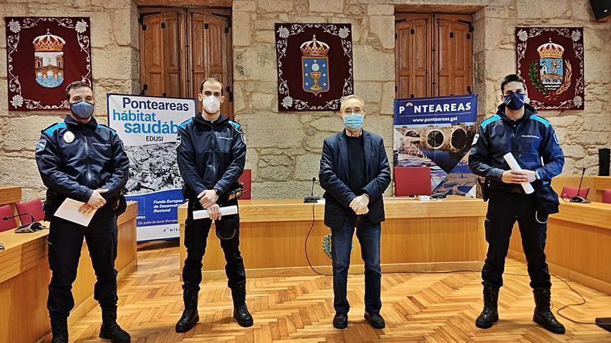 Iniciado el proceso para ampliar la plantilla de la Policía Local de Ponteareas