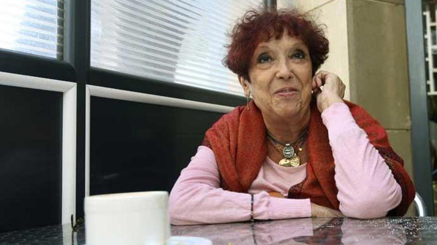 La periodista Maruja Torres.