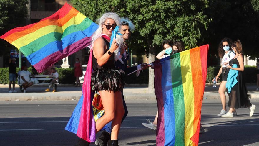 El valencianismo y el deporte estuvieron en el día del Orgullo LGTBI+ en València