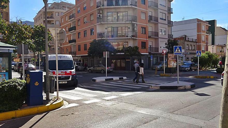 PSPV y Gent de Dénia pactan redactar  un plan de movilidad accesible
