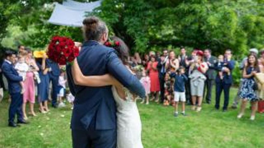 Las bodas civiles se reducen a la mitad en Pontevedra desde la irrupción del COVID