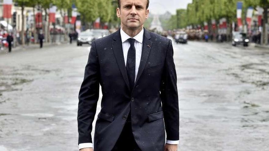 Macron gasta 26.000 euros en maquillaje
