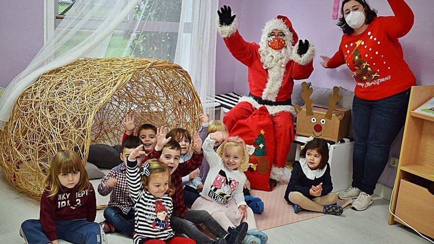 Papá Noel y los Reyes Magos adelantan su visita a Valga