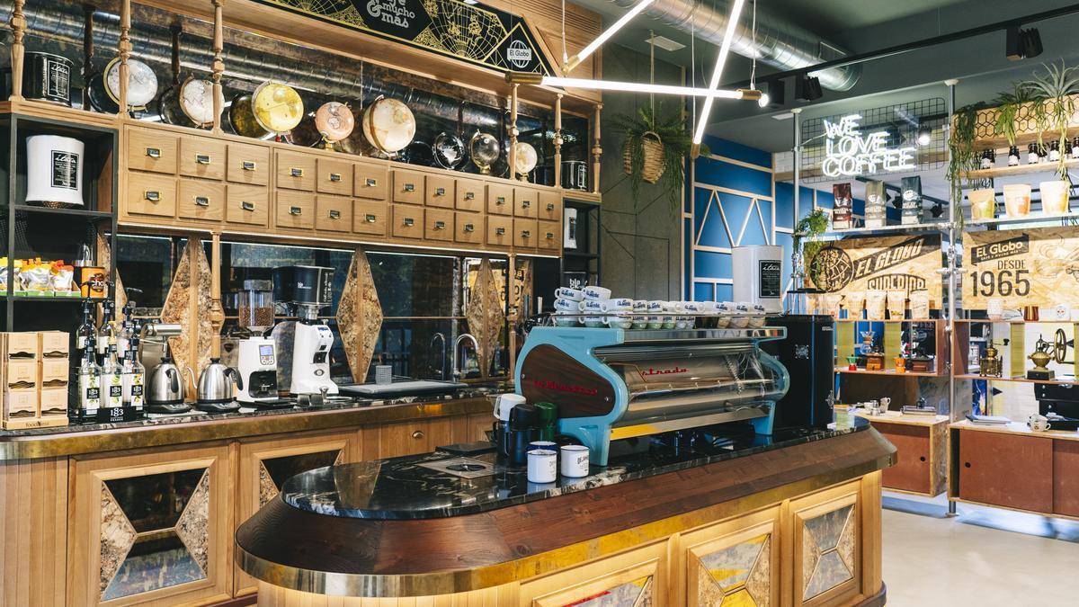 Instalaciones de Cafés El Globo