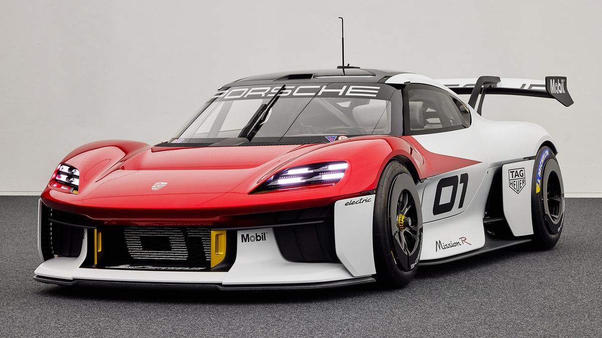 Novedades del Salón de Múnich (IAA) 2021: Porsche Mission R