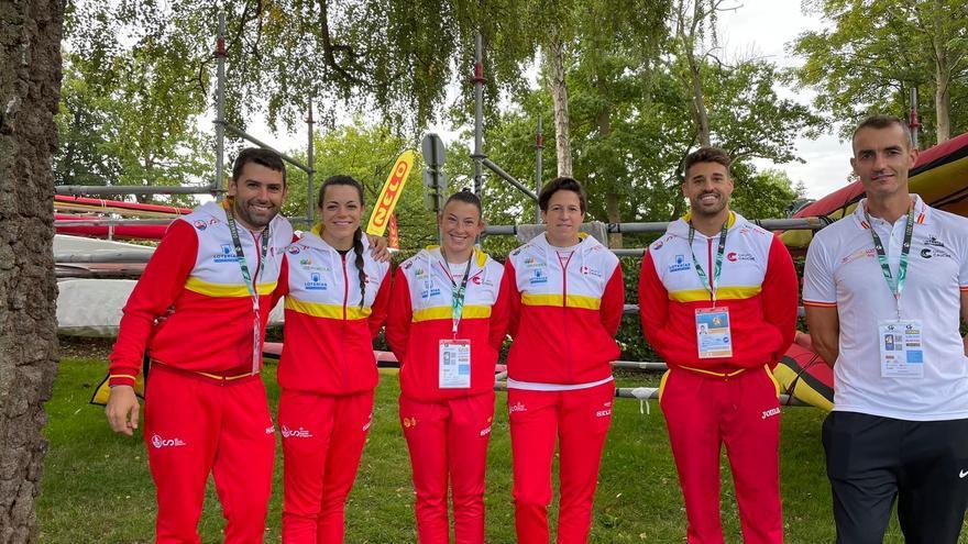 Cuatro zamoranos en el Campeonato del Mundo de Piragüismo