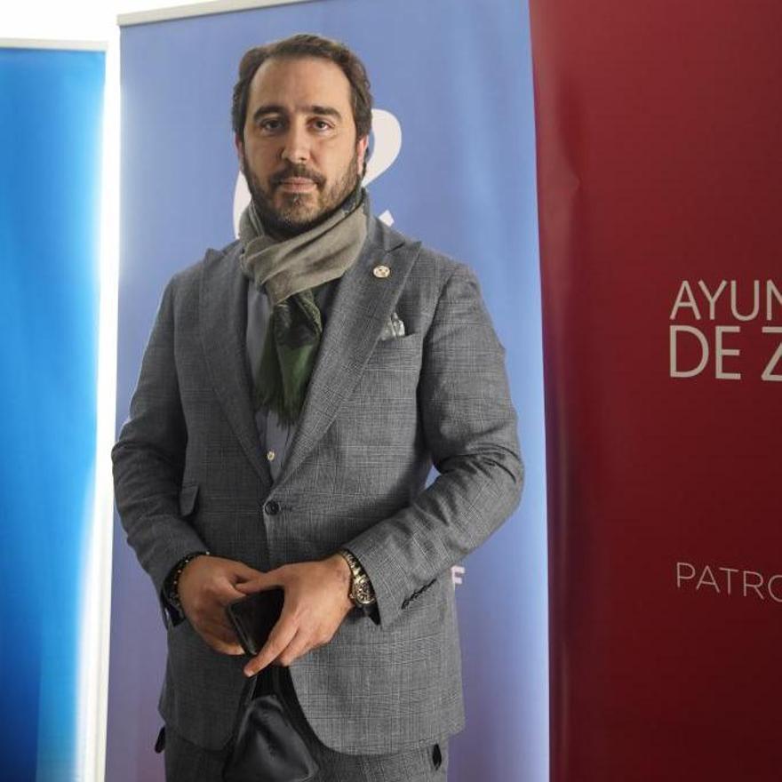 Víctor de Aldama, presidente del Zamora CF.