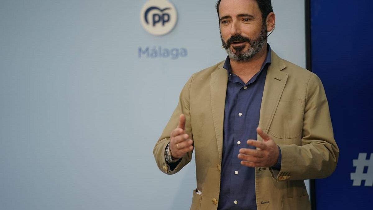 El coordinador general del Partido Popular de Málaga, José Ramón Carmona.