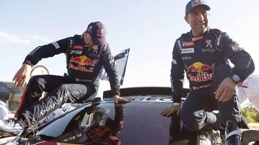 Sam Sunderland y Stéphane Peterhansel, campeones del Dakar