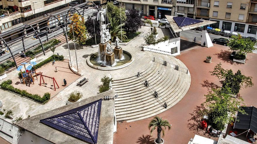 Alcoy creará un parque sobre el aparcamiento de La Rosaleda para cumplir la orden judicial