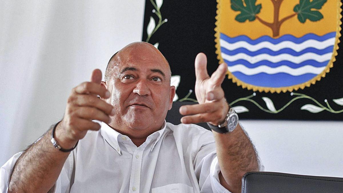 O presidente do Consorcio As Mariñas e alcalde de Abegondo, José Antonio Santiso.   | // 13FOTOS