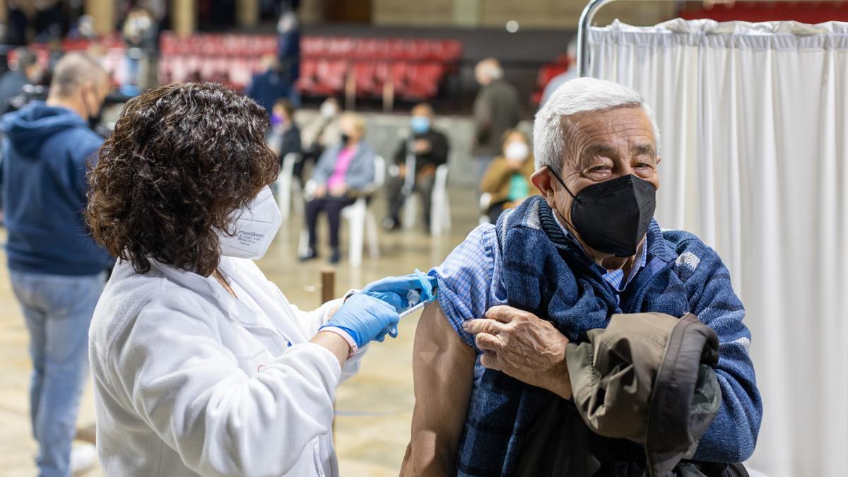 Vacunación en Cehegín