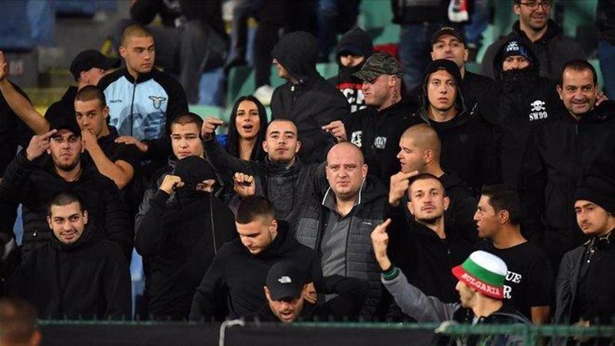 La UEFA sanciona a Bulgaria con un partido a puerta cerrada