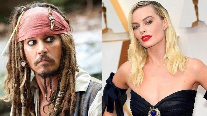 Margot Robbie será la protagonista de la nueva película de 'Piratas del Caribe'