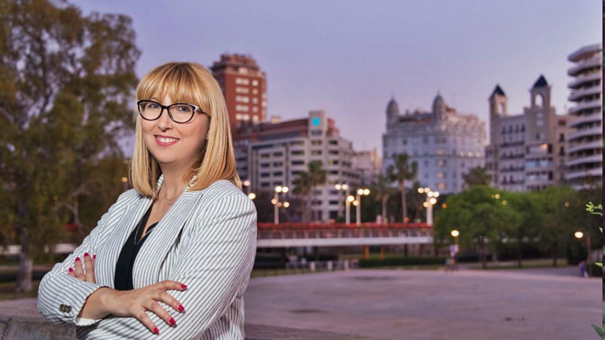 La presidenta de la FSMCV, Daniela González.  levante-emv