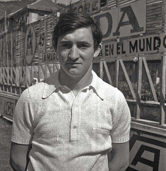 Ángel Fernández Zapico, en sus primeros años en el Eibar.   A. Z. / @SDEibar