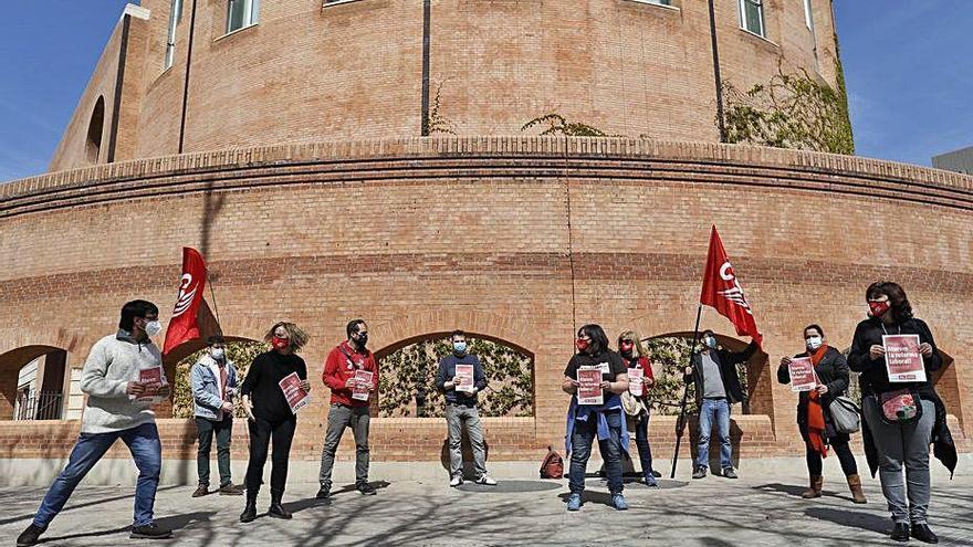 CSC protesta contra la reforma laboral