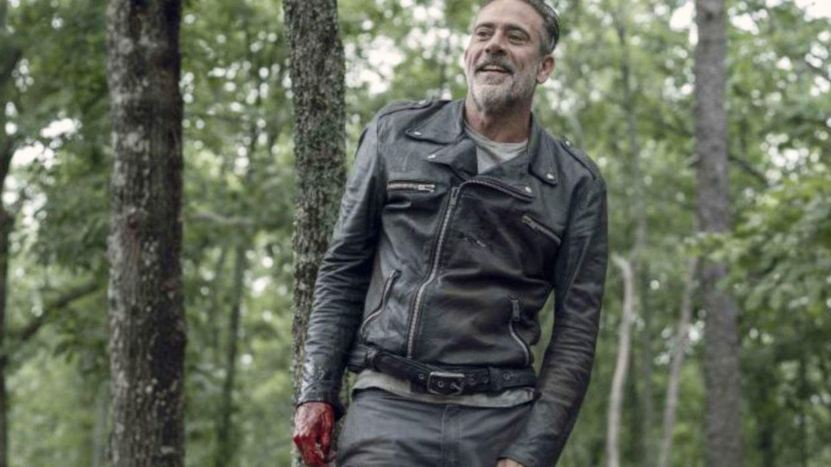 Jeffrey Dean Morgan es Negan en 'The Walking Dead'.