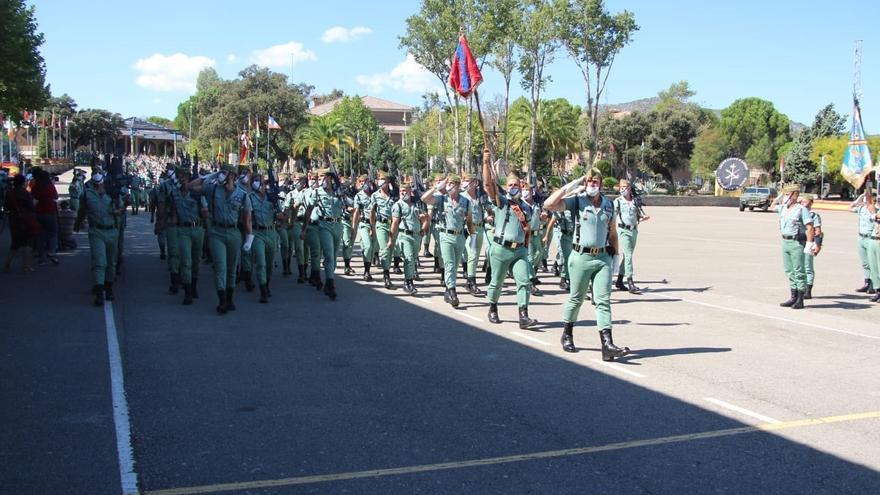 La Brigada de La Legión conmemora en Montejaque su 101 aniversario fundacional