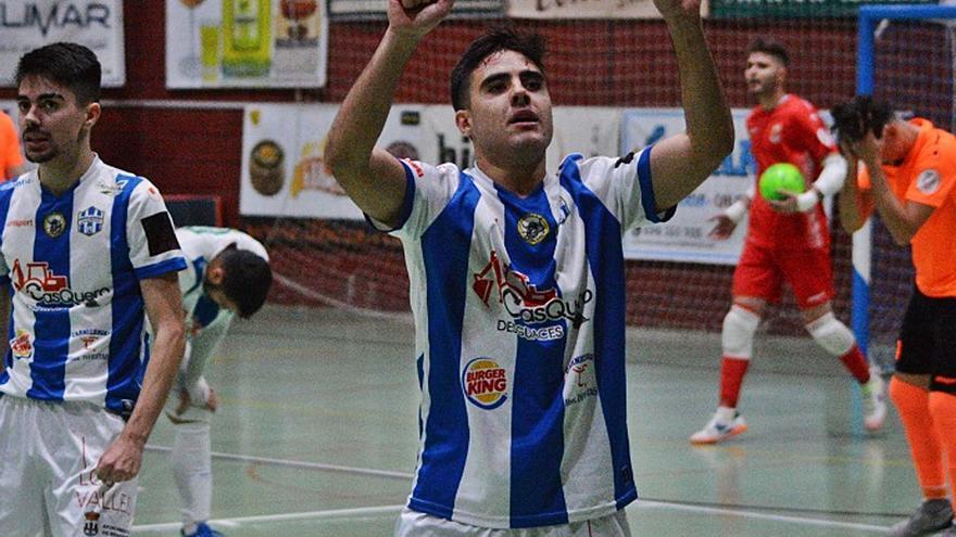 Sufrir le vale tres puntos al Atlético Benavente