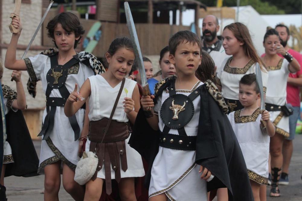 Pruebas de Aspar en el Campamento Festero de Carthagineses y Romanos