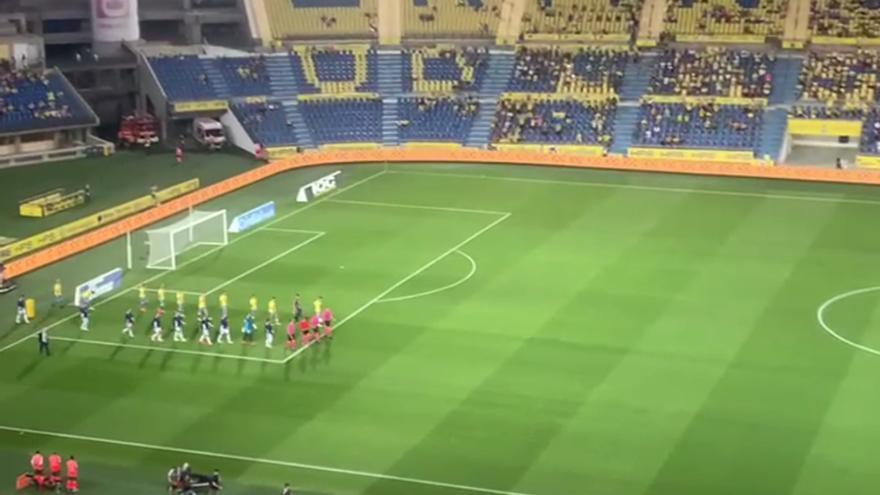 El público vuelve al Estadio de Gran Canaria