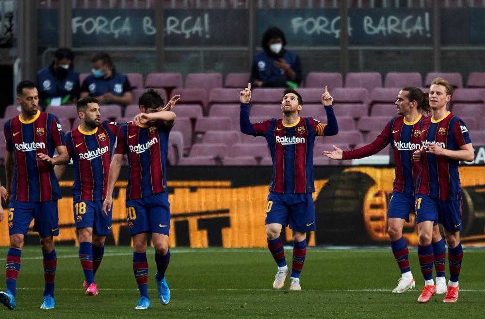 El Barça - Granada, en imatges