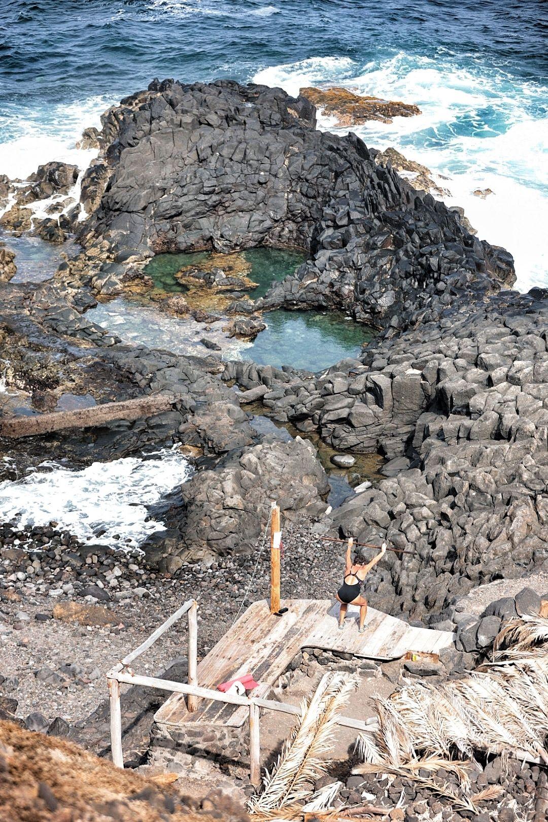 Mejoras en la zona de baño de La Barranquera