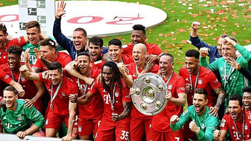 El FC Bayern de Munic conquereix la setena Bundesliga seguida