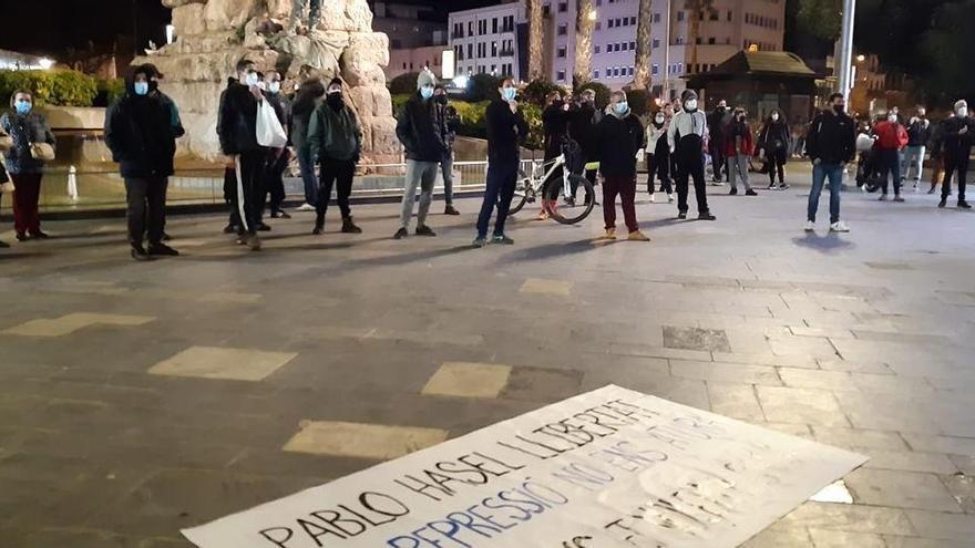 Festnahme von Rapper Hasél: Proteste auch auf Mallorca