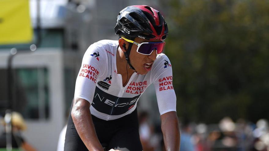 Egan Bernal, ganador del Tour, pasa apuros en la heroica victoria de Davide Formolo
