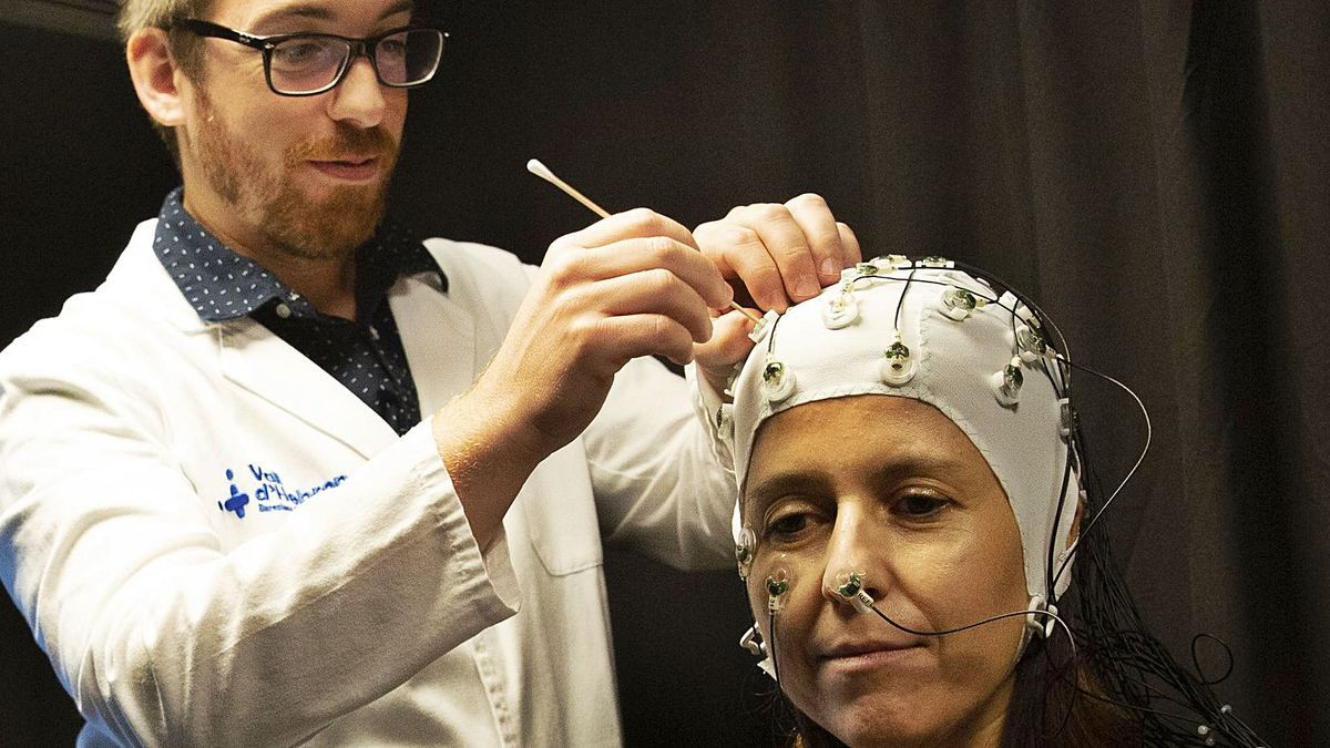 Imatge del centre d'investigació de la migranya de l'Hospital Vall d'Hebron. | ELISENDA PONS