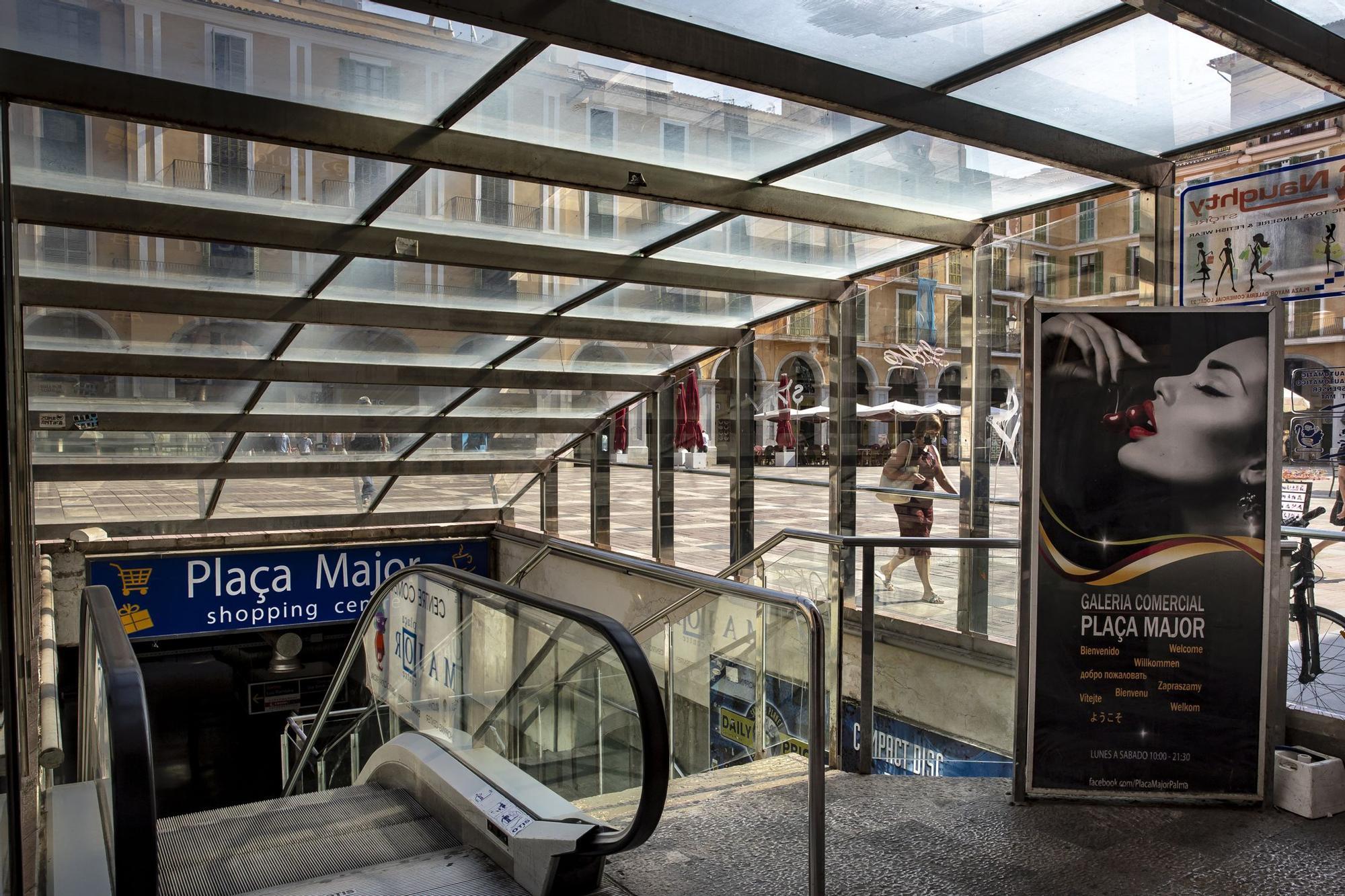 Las galerías de la plaza Major tendrán entradas de luz natural