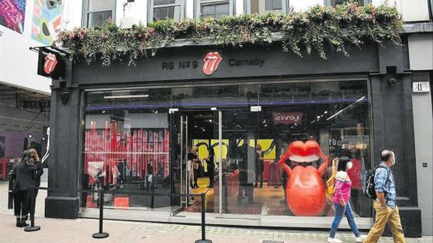 Los Rolling Stones abren su tienda en Londres
