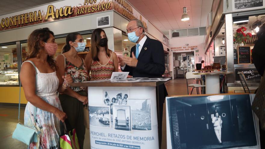 'El Perchel: Retazos de Memoria', exposición fotográfica en el Mercado del Carmen