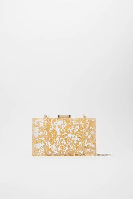 Bolso rectangular de Zara. (Precio: 29,95 euros)